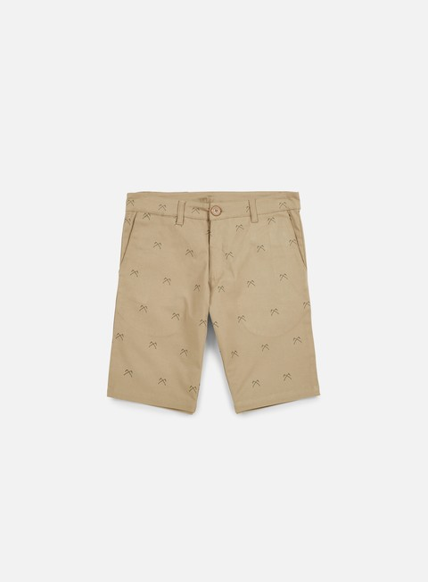 pantaloni doomsday crossed sickels chino short beige