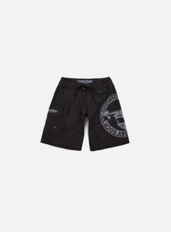 Doomsday - Hammerhead Boardshort, Black 1