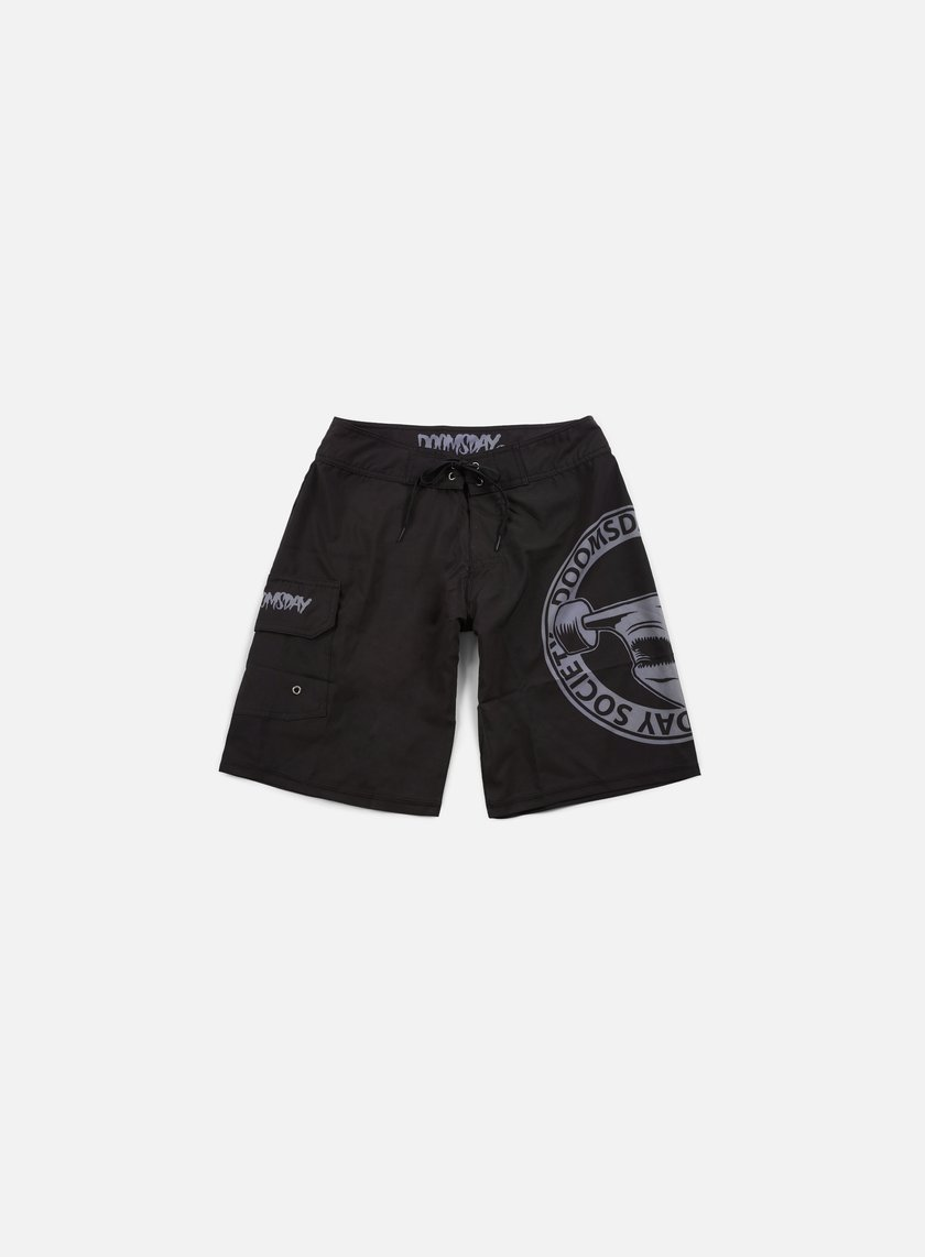 Doomsday - Hammerhead Boardshort, Black