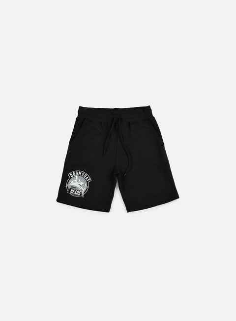 pantaloni doomsday heads sweat short black