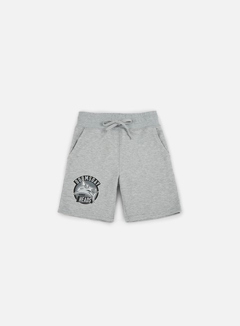 pantaloni doomsday heads sweat short sport grey