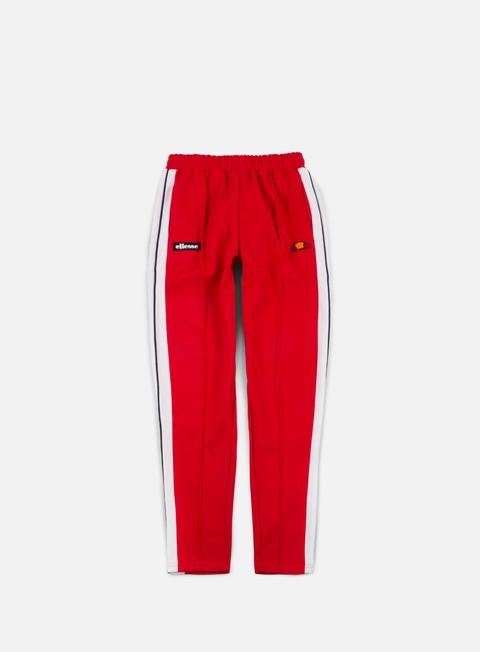 pantaloni ellesse casse track pant true red