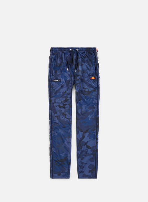 pantaloni ellesse staple rockafella pant all over print