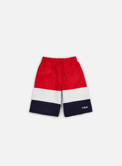 pantaloni fila alanzo short chinese red