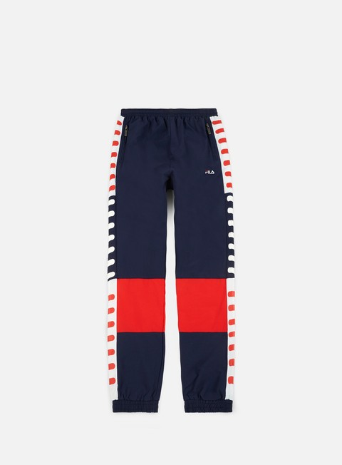 pantaloni fila caleb woven pants peacot