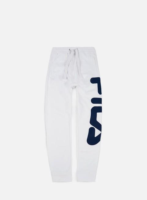 pantaloni fila classic pant bright white