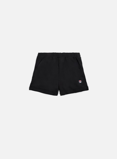 pantaloni fila dustin sweat short black