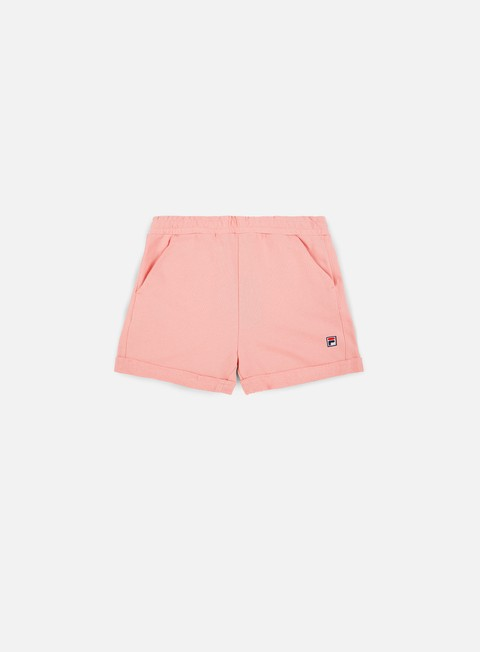 pantaloni fila dustin sweat short coral blush