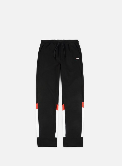 pantaloni fila ian sweat pant black