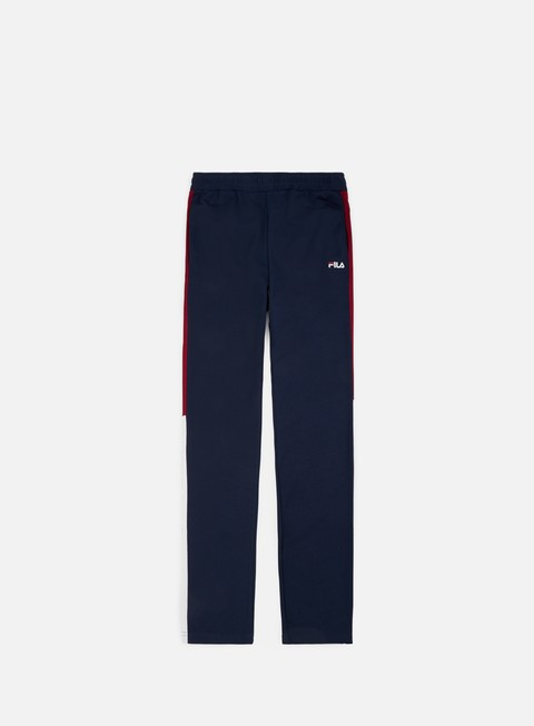 pantaloni fila nolin tight track pants black iris