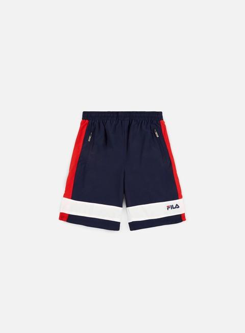 pantaloni fila ronald woven trunk peacoat