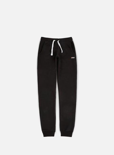 pantaloni fila slim pant black