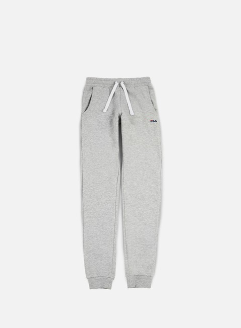 pantaloni fila slim pant light grey