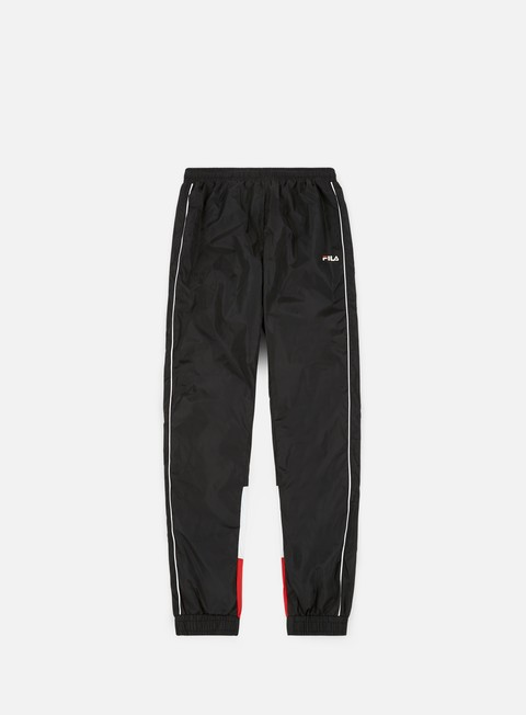 pantaloni fila talmon woven pant true red bright white black