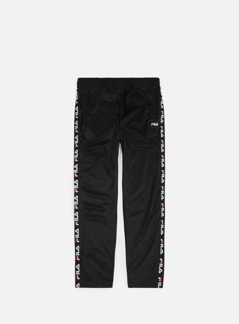 pantaloni fila tape track pant black