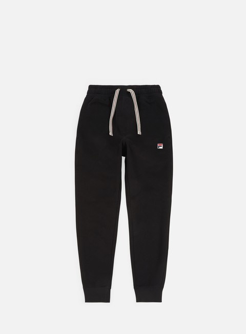 pantaloni fila visconti essential sweatpants black