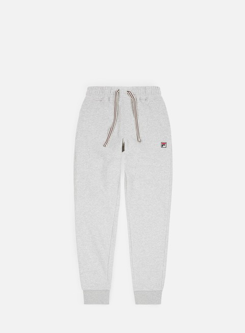 pantaloni fila visconti essential sweatpants light grey marl