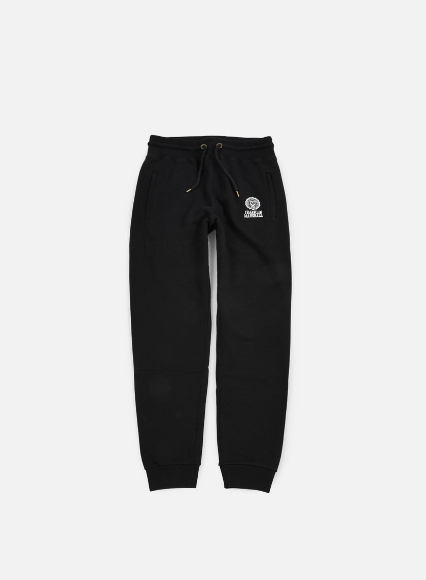 Franklin & Marshall - Classic Fleece Pants, Black