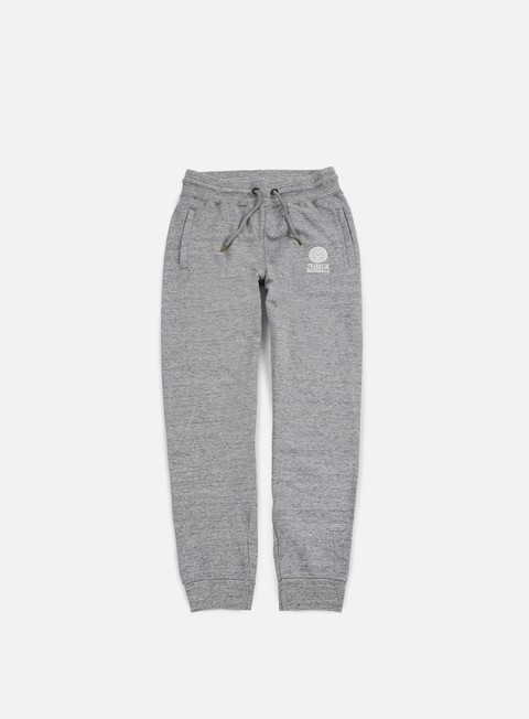 pantaloni franklin e marshall classic fleece pants sport grey
