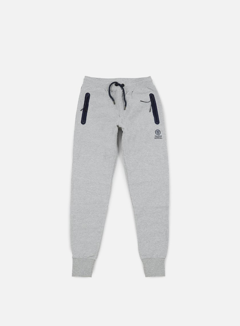 Franklin & Marshall - Fleece Pants, Grey Melange