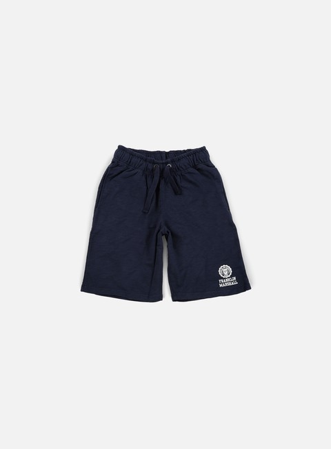 pantaloni franklin e marshall fleece short navy