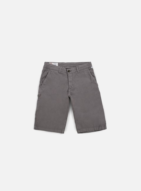 pantaloni franklin e marshall leo short charcoal grey