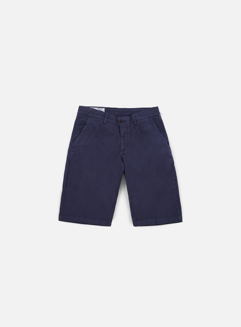 pantaloni franklin e marshall leo short uniform blue