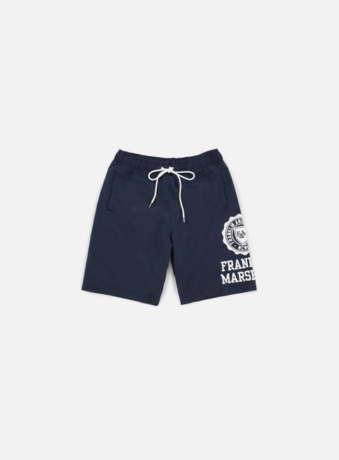 pantaloni franklin e marshall logo boardshort navy