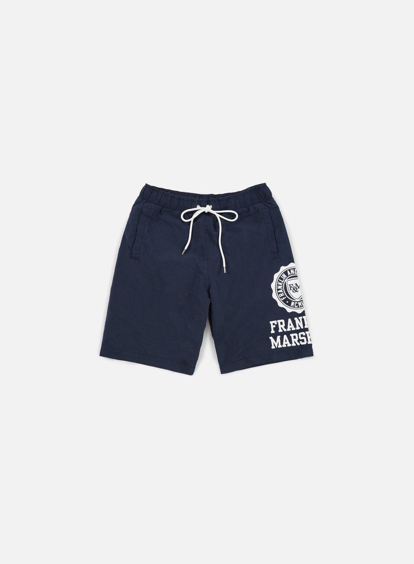 Franklin & Marshall - Logo Boardshort, Navy