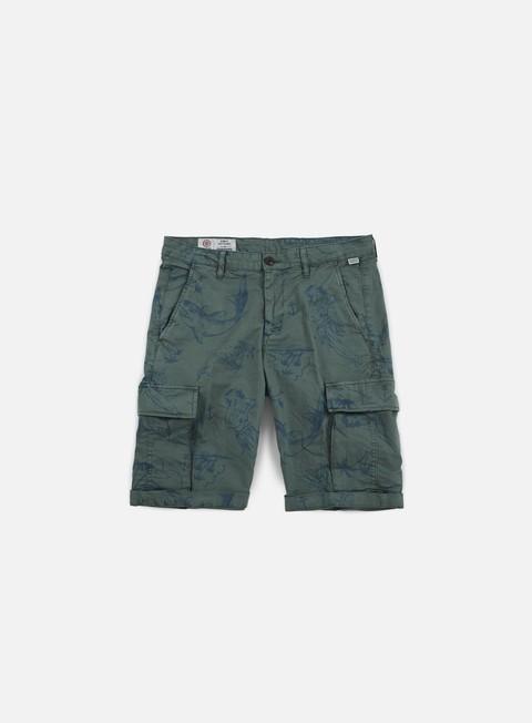 pantaloni franklin e marshall roberts short aloha ivy green