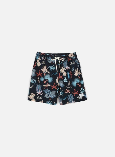 pantaloni globe sunburnt board short vintage black