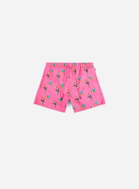 Outlet e Saldi Costumi da Bagno Happy Socks Parrot Swim Shorts