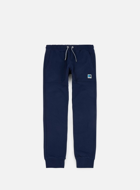 pantaloni helly hansen hh slim sweat pant evening blue