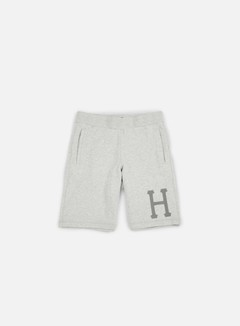 Huf - 3 M Classic H Fleece Short, Grey Heather 1