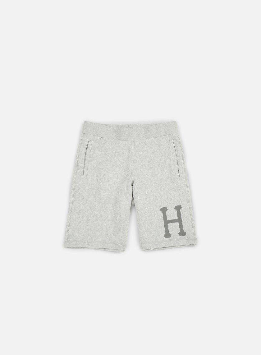Huf - 3 M Classic H Fleece Short, Grey Heather