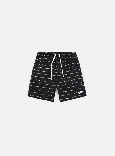 pantaloni huf fuck it easy short black