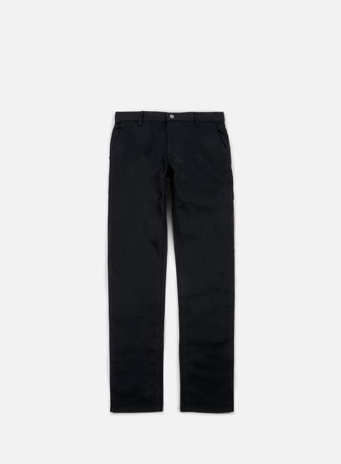 pantaloni huf fulton slim chino pant black