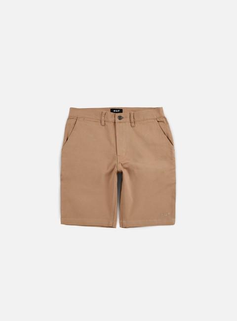 pantaloni huf fulton slim short khaki