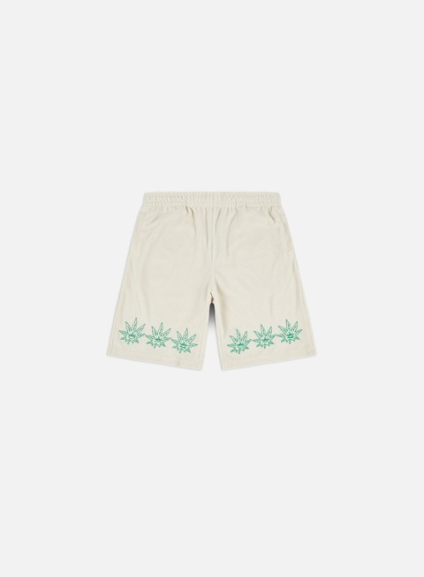 Pantaloncini Huf Green Buddy Terry Cloth Shorts