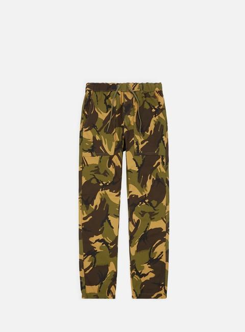pantaloni huf neo camo easy pant deep olive