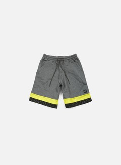 Iuter - Calf Sweat Shorts, Dark Grey 1