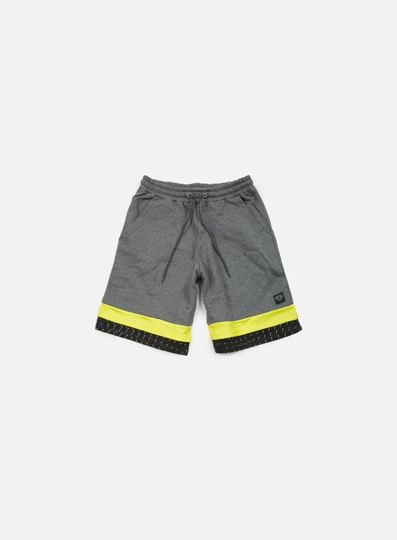 Iuter - Calf Sweat Shorts, Dark Grey