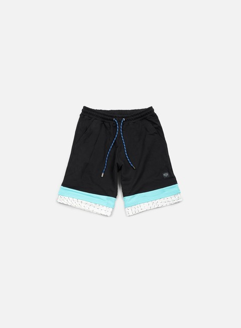 pantaloni iuter cattle sweat shorts black