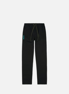 Iuter - Citizen Pants, Black/Turquoise