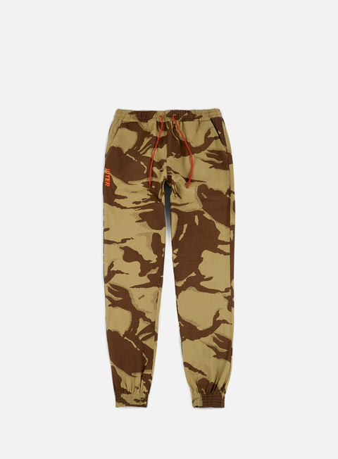 pantaloni iuter dyed camo jogger pants sand