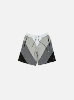 Iuter - Five Vee Sweat Shorts, Dark Grey 1
