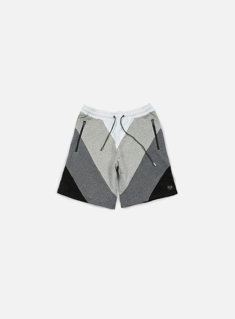 pantaloni iuter five vee sweat shorts dark grey