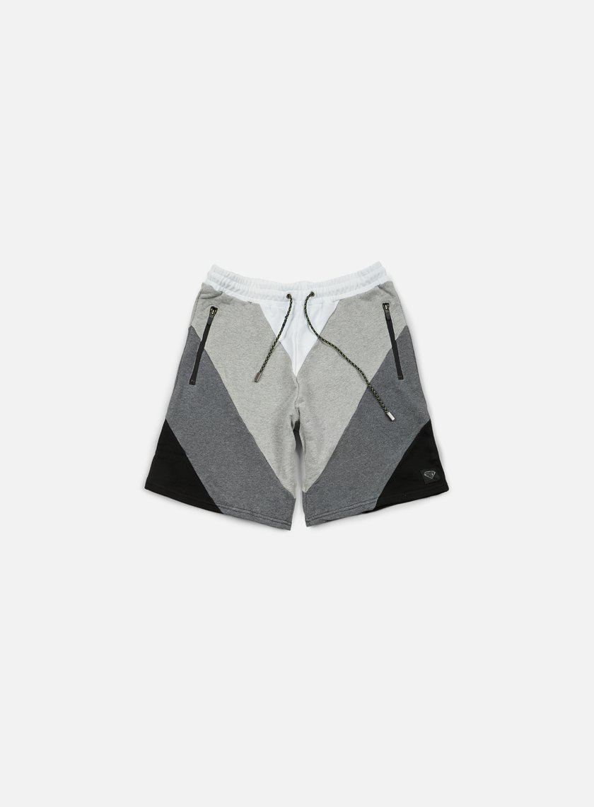 Iuter - Five Vee Sweat Shorts, Dark Grey