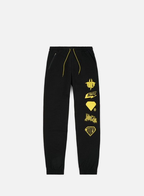 pantaloni iuter horns sweatpants black