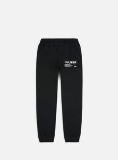 Iuter - Info Pants, Black/White